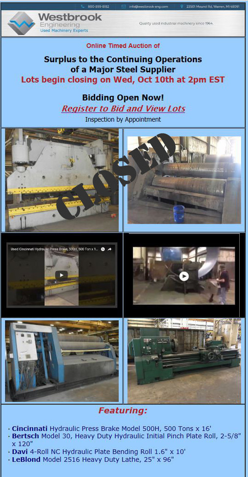 Surplus-to-the-Continuing-Operations-of-a-Major-Steel-Supplier_auctions_gallery